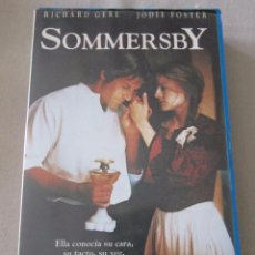Cine: VHS VIDEO SOMMERSBY RICHARD GERE JODIE FOSTER . Lote 95863727