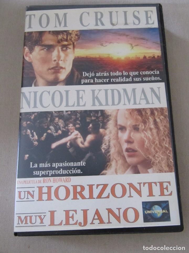 VHS VIDEO UN HORIZONTE MUY LEJANO TOM CRUISE NICOLE KIDMAN RON HOWARD (Cine - Películas - VHS)