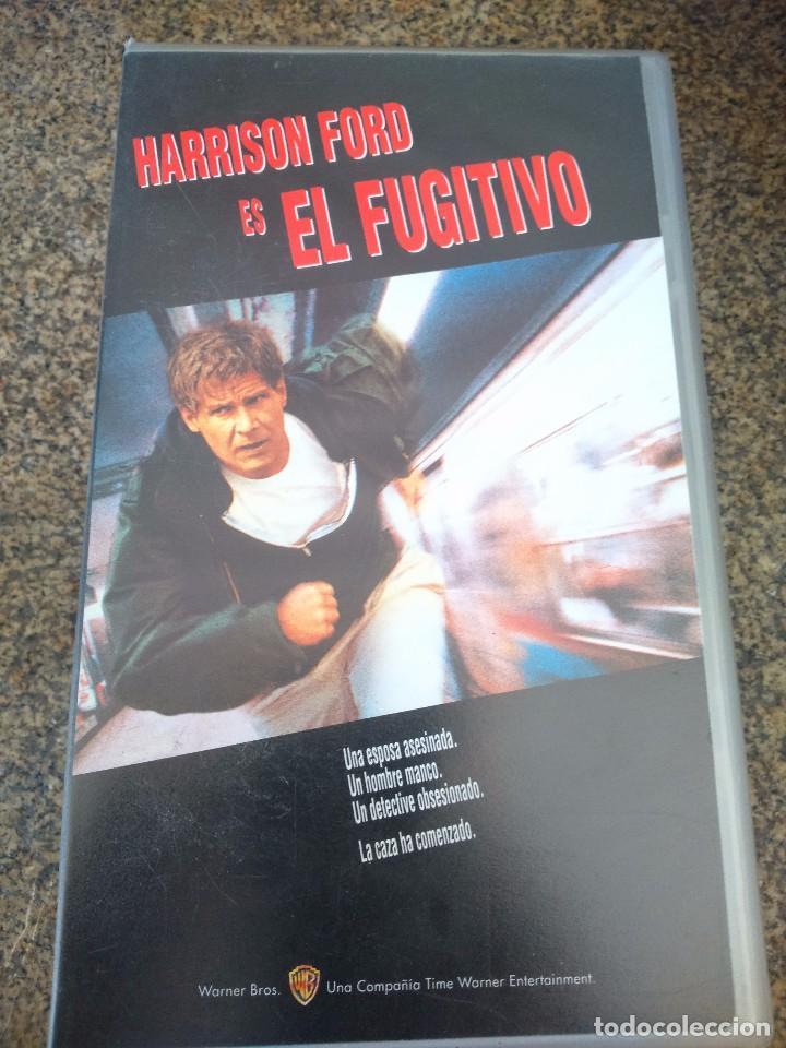 VHS -- EL FUGITIVO -- HARRISON FORD -- (Cine - Películas - VHS)