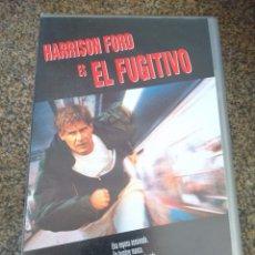 Cine: VHS -- EL FUGITIVO -- HARRISON FORD --. Lote 95889635