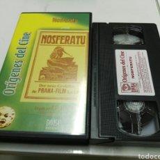 Cine: VHS- NOSFERATU (1922)- F. W. MURNAU- DIVISA. Lote 95930751