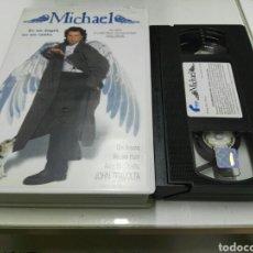 Cine: VHS- MICHAEL- JOHN TRAVOLTA ANDIE MACDOWELL. Lote 112601662