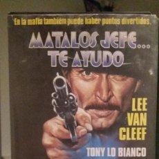 Cine: VHS - MATALOS JEFE... TE AYUDO / MICHELE LUPO- ES ORIGINAL - LE FALTA PEGATINA CENTRAL . Lote 96121403