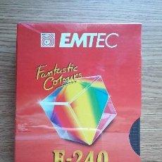 Cine: CINTA VIRGEN VHS 240 MINUTOS. EMTEC. PRECINTADA.. Lote 96123691