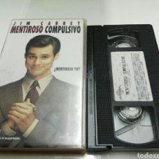 Cine: VHS- MENTIROSO COMPULSIVO- JIM CARREY. Lote 96149596