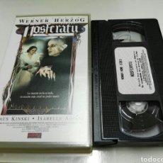 Cine: VHS- NOSFERATU- KLAUS KINSKI ISABELLE ADJANI. Lote 96150355