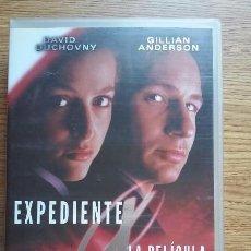 Cine: VHS EXPEDIENTE X LA PELÍCULA. EDICIÓN ESPECIAL. Lote 96201543