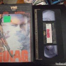 Cine: GULAG - ROGER YOUNG - DAVID KEITH , MALCOLM MCDOWELL - KING 1985. Lote 96536855