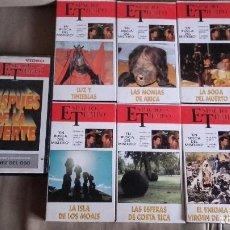 Cine: LOTE DE 7 VHS DE ESPACIO Y TIEMPO . JUAN JOSÉ BENITEZ Y JIMENEZ DEL OSO. Lote 96600307