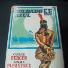 Cine: VHS VIDEO SOLDADO AZUL CANDICE BERGEN PETER STRAUSS DONALD PLEASENCE IVS EDICION CAJA GRANDE . Lote 96617815