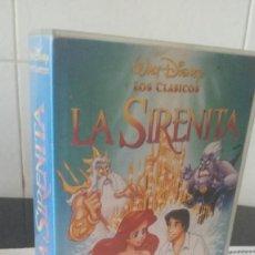 Cine: 8-VHS, LA SIRENITA, DISNEY. Lote 110164395