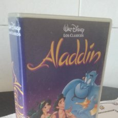 Cine: 9-VHS ALADDIN, DISNEY. Lote 96632391