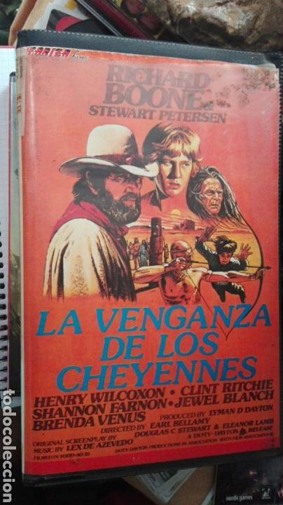 LA VENGANZA DE LOS CHEYENNES (Cine - Películas - VHS)