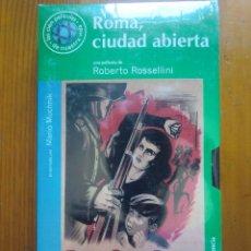 Cine: VHS ROMA, CIUDAD ABIERTA (1945) DE ROBERTO ROSSELLINI. ¡NUEVA Y PRECINTADA!. Lote 96795803