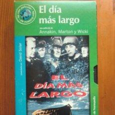 Cine: VHS EL DÍA MÁS LARGO (1962) DE ANNAKIN, MARTON Y WICKI. ¡NUEVA!. Lote 96796075