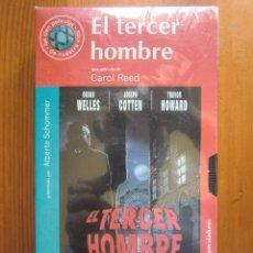 Cine: VHS EL TERCER HOMBRE (1949) DE CAROL REED. CON ORSON WELLES Y JOSEPH COTTEN. NUEVA Y PRECINTADA. Lote 96796239