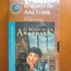 Cine: VHS EL DIARIO DE ANA FRANK (1959) DE GEORGE STEVENS. ¡NUEVA Y PRECINTADA!. Lote 96796839