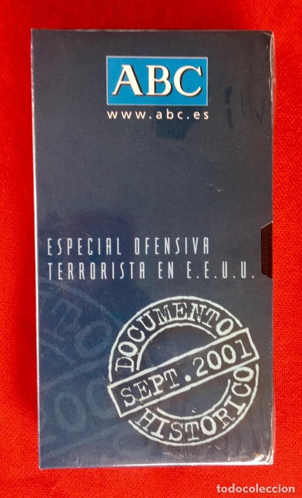 ATENTADOS PELICULA PRECINTADA DOCUMENTO HISTORICO 2001 ABC ESPECIAL DEFENSIVA TERRORISTA EN EEUU (Cine - Películas - VHS)