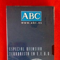 Cine: ATENTADOS PELICULA PRECINTADA DOCUMENTO HISTORICO 2001 ABC ESPECIAL DEFENSIVA TERRORISTA EN EEUU. Lote 96823623