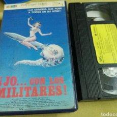 Cine: JO... CON LOS MILITARES- VHS- SEX COMEDY 80. Lote 96879534