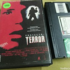 Cine: PROYECTO TERROR- VHS- 1EDICION. Lote 96883775