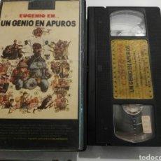 Cine: VHS- UN GENIO EN APUROS- EUGENIO- 1° EDICION- UNICA EN VHS. Lote 160241356
