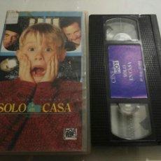 Cine: VHS- SOLO EN CASA. Lote 97069056