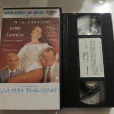 Cine: VHS- LA PEPA TRAE COLA- M° JOSE CANTUDO ZORI Y SANTOS. Lote 97302664