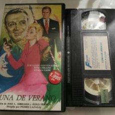 Cine: VHS- LUNA DE VERANO- FERNANDO FERNAN GOMEZ PEDRO LAZAGA. Lote 97315819