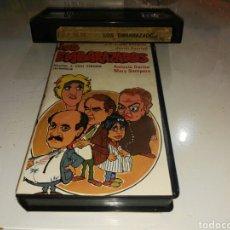 Cine: VHS- LOS EMBARAZADOS- JOSE LUIS LOPEZ VAZQUEZ- EDICION ANTIGUA. Lote 97365156