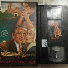 Cine: VHS- LA AGONIA DE SER MADRE. Lote 97365363