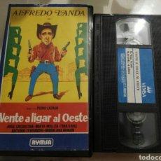 Cine: VHS- VENTE A LIGAR AL OESTE- ALFREDO LANDA PEDRO LAZAGA. Lote 97366118