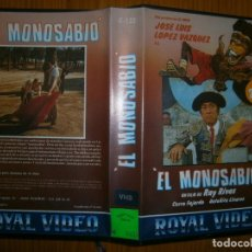 Cine: EL MONOSABIO. Lote 97470775