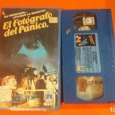 Cine: VHS - EL FOTOGRAFO DEL PANICO - 1 EDIC IVEX - AUD Y VID EXCELENTE . Lote 97538259