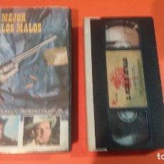 Cine: VHS - EL MEJOR DE LOS MALOS - 1 EDICION - NUNCA EN DVD - AUD Y VID EXCEL. Lote 97538871
