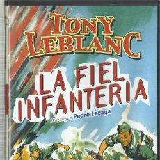 Cine: LA FIEL INFANTERIA 1960, PEDRO LAZAGA. Lote 97635775