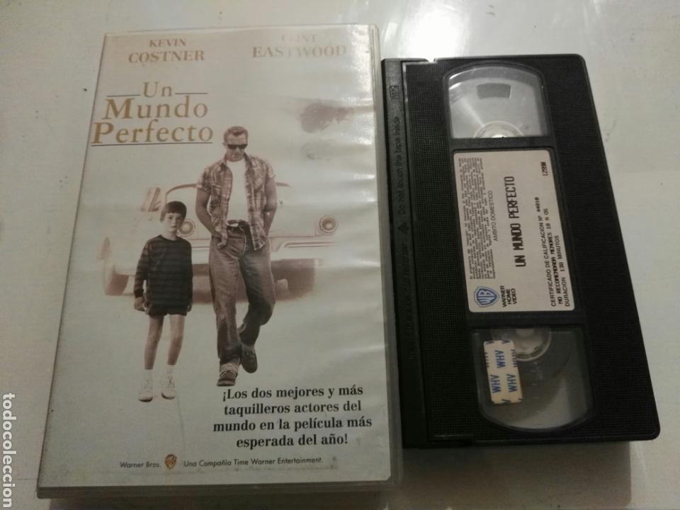 VHS- UN MUNDO PERFECTO- KEVIN COSTNER CLINT EASTWOOD (3) (Cine - Películas - VHS)