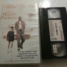 Cine: VHS- UN MUNDO PERFECTO- KEVIN COSTNER CLINT EASTWOOD (3). Lote 97761356