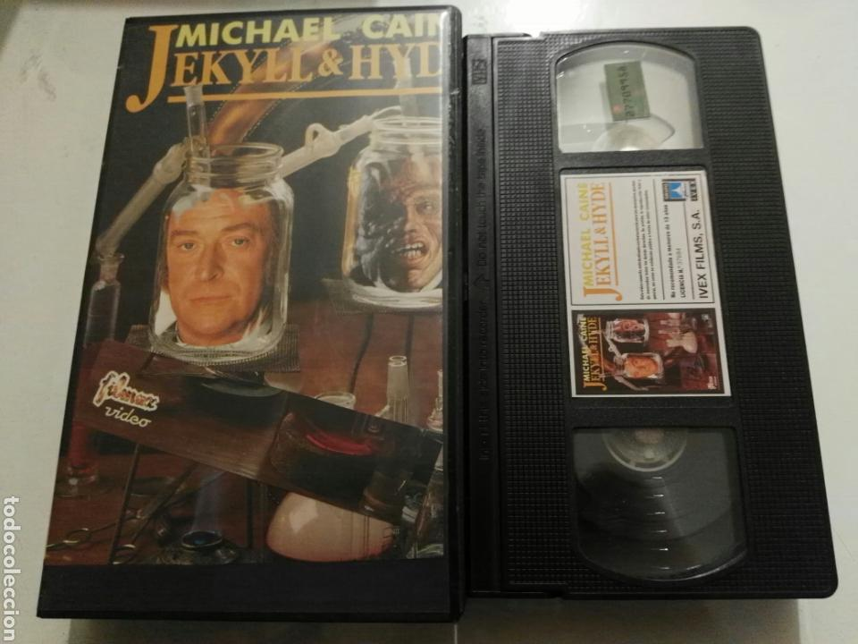 Cine: VHS- Jekyll & Hyde- Michael Caine - Foto 1 - 97847116