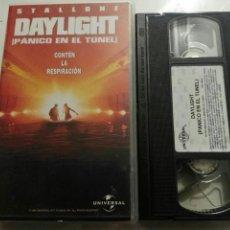 Cine: VHS- DAYLIGHT PANICO EN EL TUNEL- SYLVESTER STALLONE. Lote 97881391