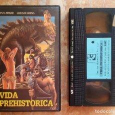 Cine: VHS - VIDA PREHISTÓRICA. Lote 98001823
