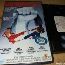 Cine: BLOODFIST- VHS- DON DRAGON WILSON. Lote 98028779