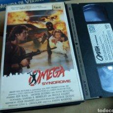 Cine: OMEGA SYNDROME- VHS- JOSEPH MANDUKE- NEONAZIS 1986. Lote 98031374