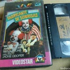 Cine: FABRICANTE DE SONRISAS- LEAVE 'EM LAUGHING (1981) TV MOVIE- VHS- MICKEY ROONEY- DESCATALOGADA. Lote 98031539