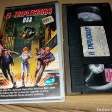 Cine: EL TRIPLECROSS USA- VHS- DIR: DAVID GREENE. Lote 98049199