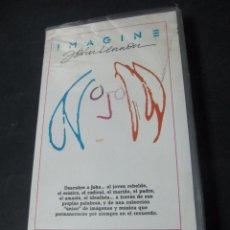 Cine: VHS VIDEO HOHN LENNON IMAGINE WARNER HOME VIDEO ANDREW SOLT (BEATLES). Lote 98085239