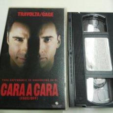 Cine: VHS- CARA A CARA- TRAVOLTA/CAGE. Lote 178863158