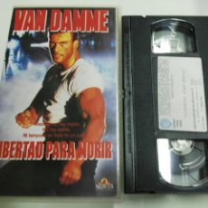 Cine: VHS- LIBERTAD PARA MORIR- VAN DAMME. Lote 178863280