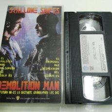 Cine: VHS- DEMOLITION MAN- SYLVESTER STALLONE (2). Lote 98125299