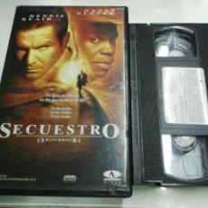 Cine: VHS- SECUESTRO- DENNIS QUAID. Lote 112596872